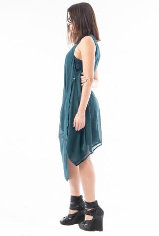 Ivan Grundahl Adjustable Button Dress