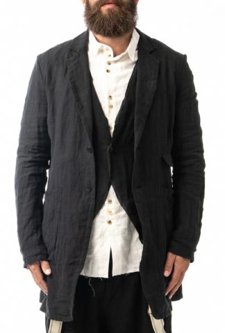 ALEKSANDR MANAMIS elongated jacket with built-in v