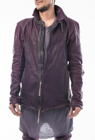 Boris Bidjan Saberi J2 Removable Zipped Collar Horse Leather Jacket