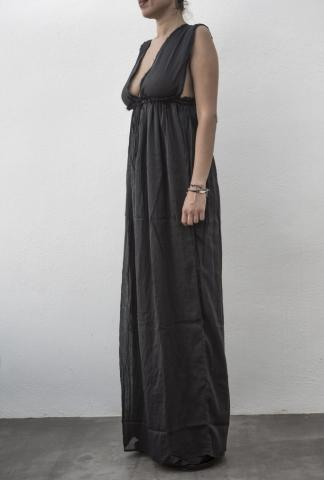 Isabel Benenato Empress Long Dress