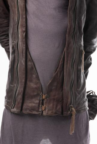 Boris Bidjan Saberi J4 Leather Jacket