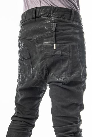 Boris Bidjan Saberi P13TF Body Molded Vinyl Coated Jeans