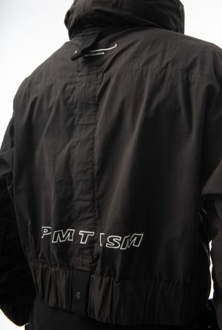 HAMCUS Cropped Oversized Windbreaker