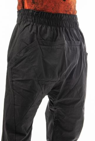 HAMCUS Geo-cut Drop Crotch Joggers