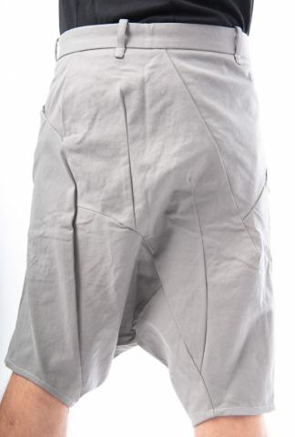 Leon Emanuel Blanck Anfractuous Distortion Drop Crotch Shorts