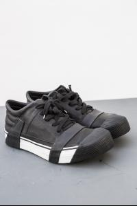 Boris Bidjan Saberi low sineakers black w/white st