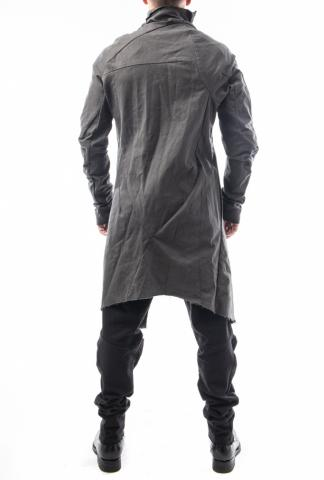 Leon Emanuel Blanck distortion curved coat