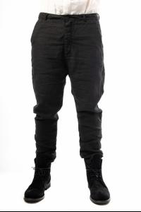 Poeme Bohemien Tapered Loose Low-crotch Trousers