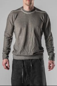 Boris Bidjan Saberi PULL1 Cold Dyed Sweater