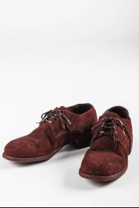 Guidi 792 CV23T Horse Reverse Leather Derbies