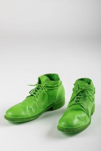Guidi 994 Apple Green Ankle Boots