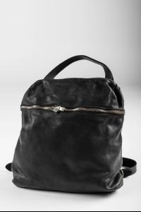 Guidi SA03 BLKT Soft Horse Full Grain Leather Small Backpack