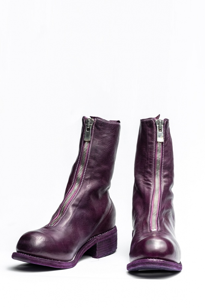 GUIDI PL2 Mid Front zip boot